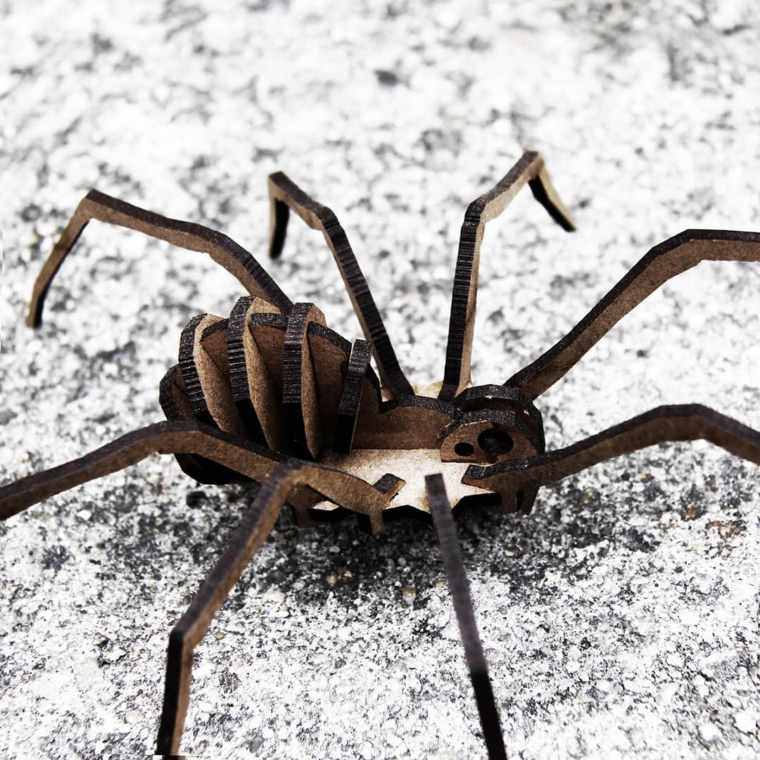 Aracnídeos - Miniatura para montar Aranha