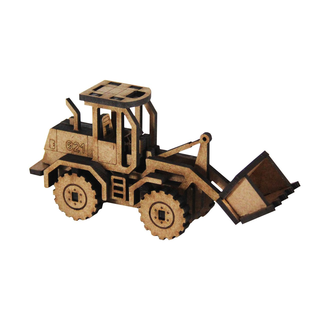 Auto - Miniatura para montar Carregadeira