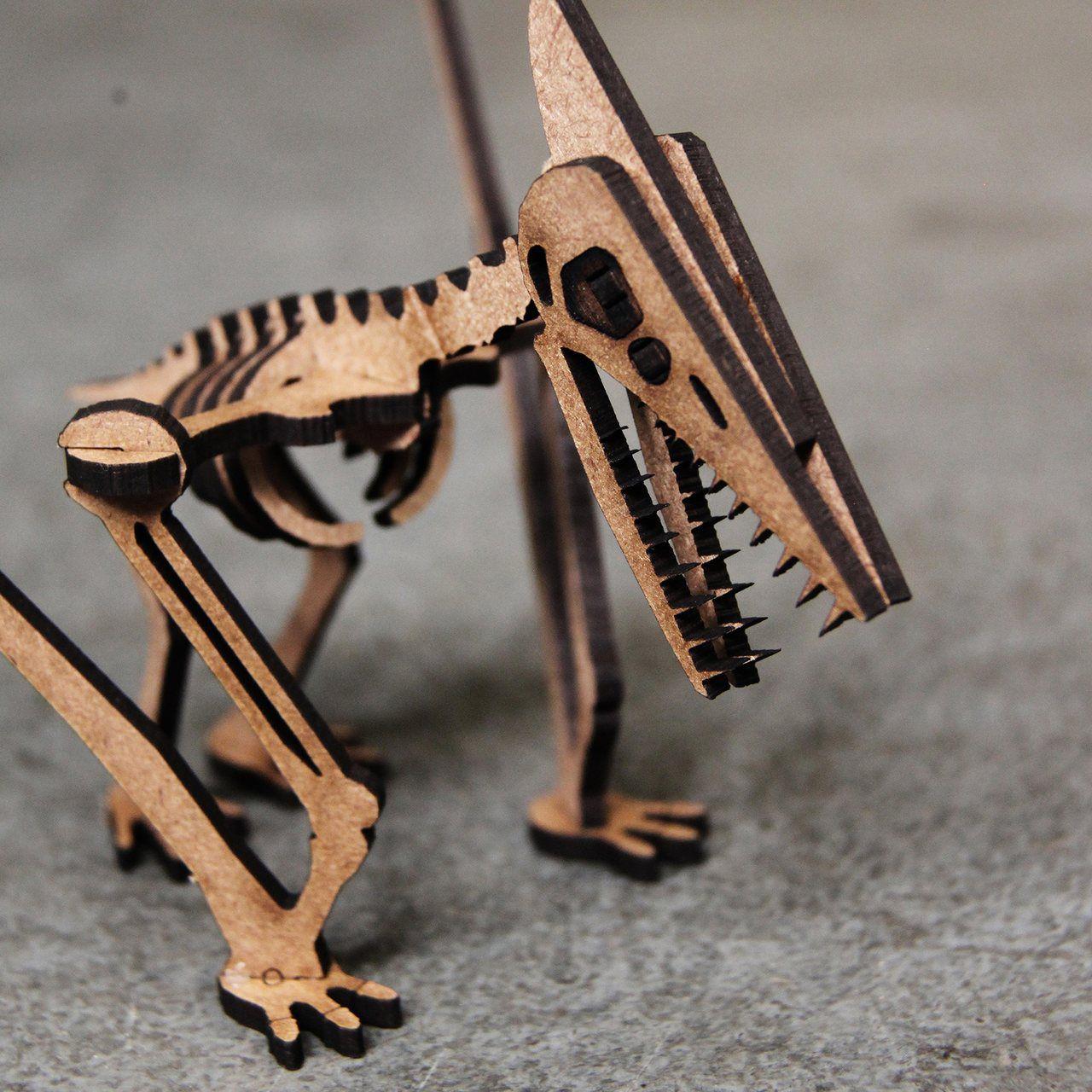 Dinossauro - Miniatura para montar Pterodáctilo