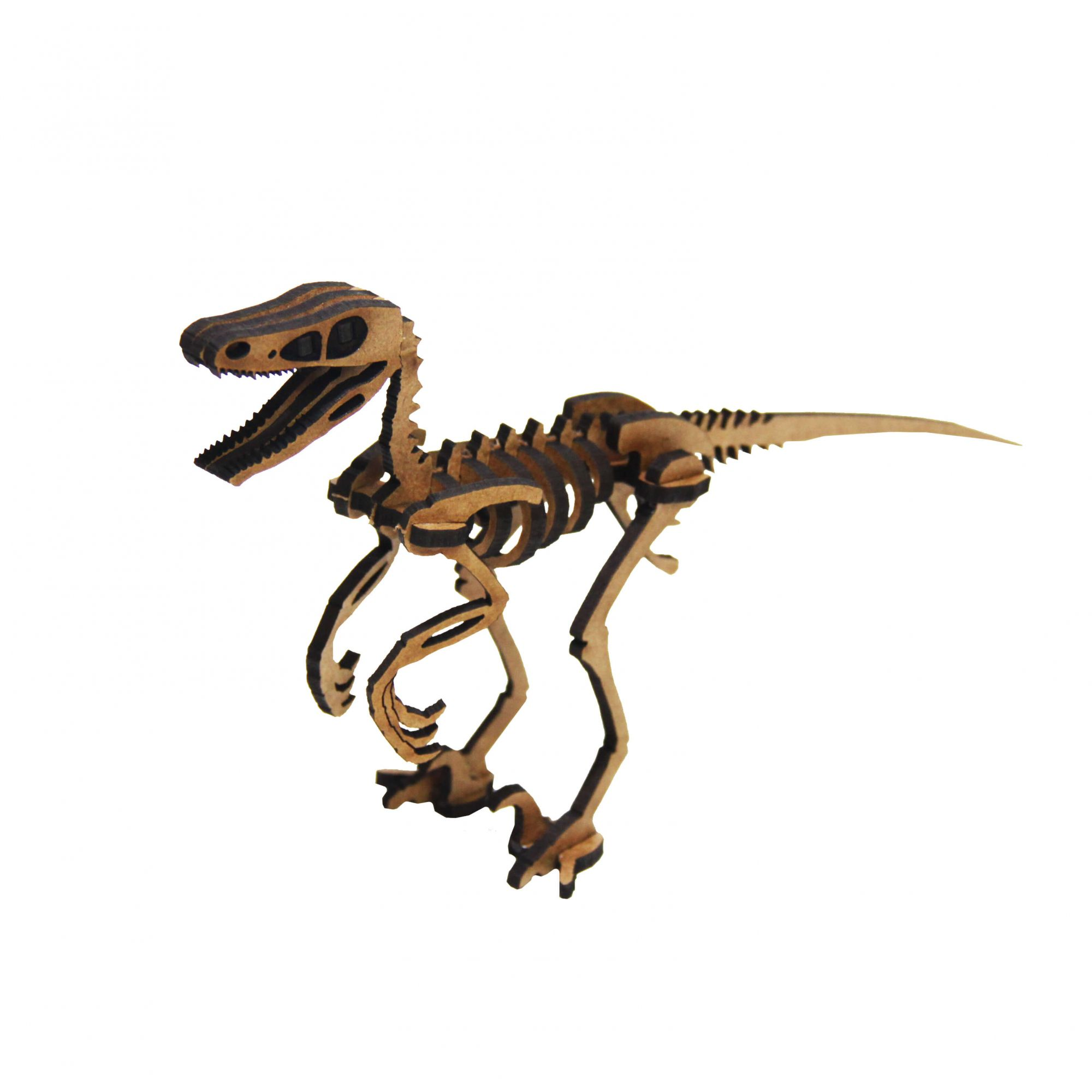 Dinossauro - Miniatura para montar Velociraptor