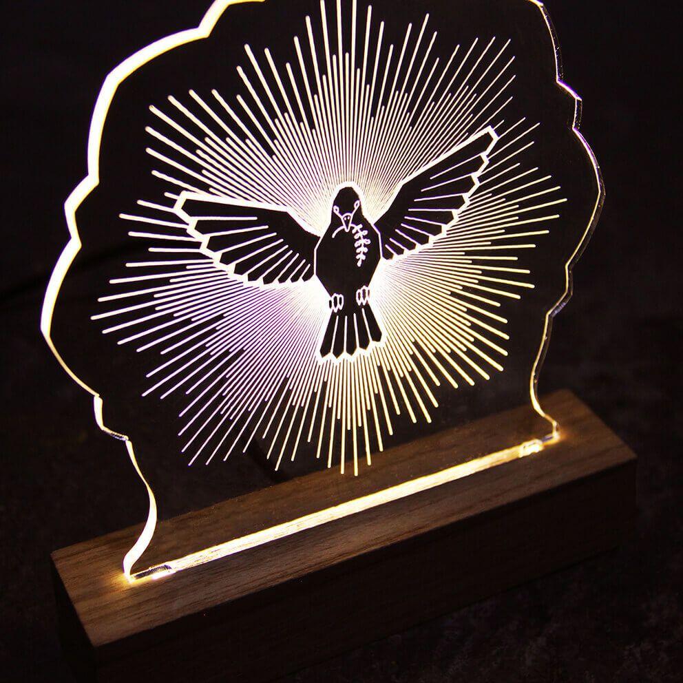Fé - Luminária Espírito Santo