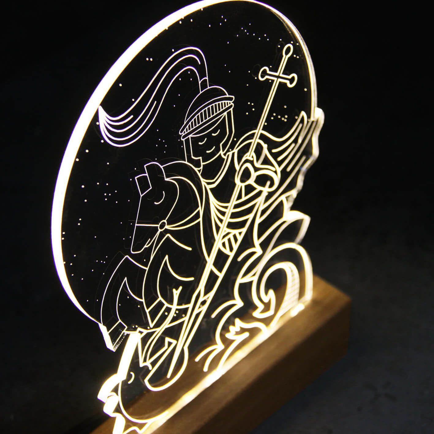 Fé - Luminária São Jorge