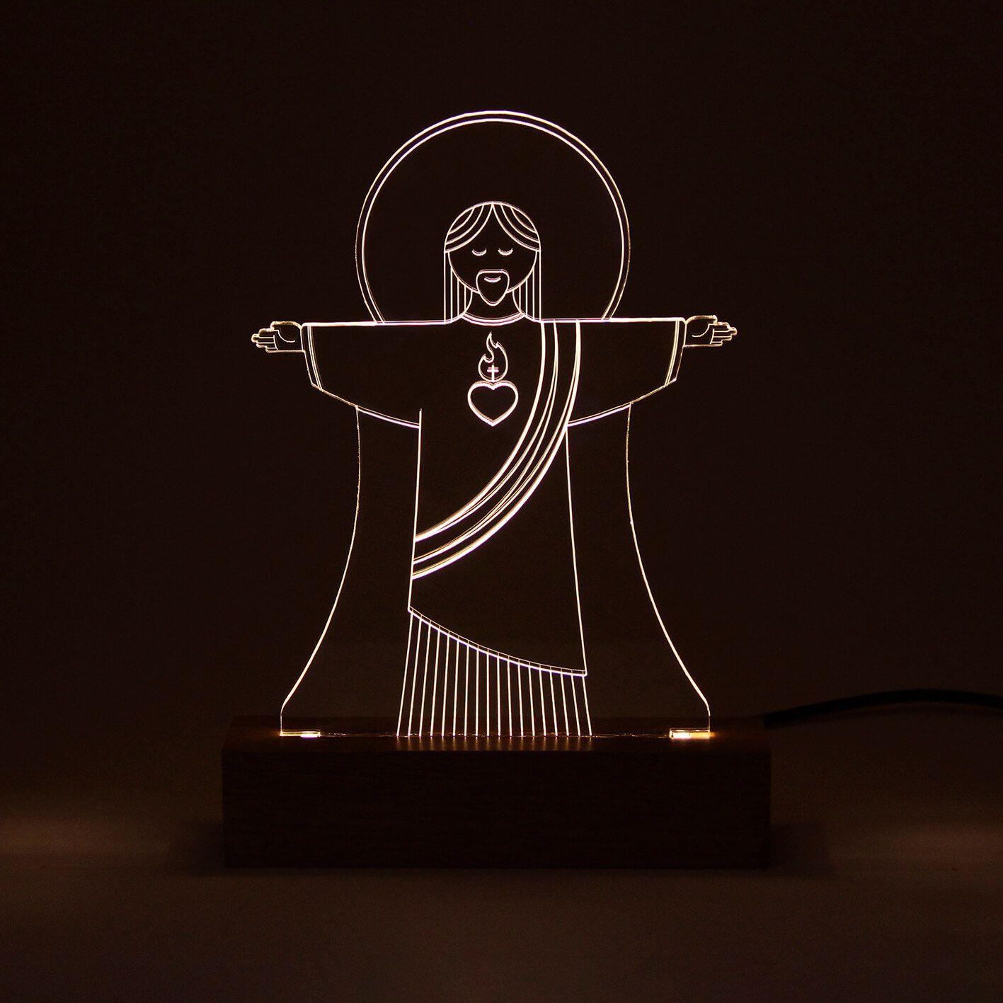 Luminária Cristo