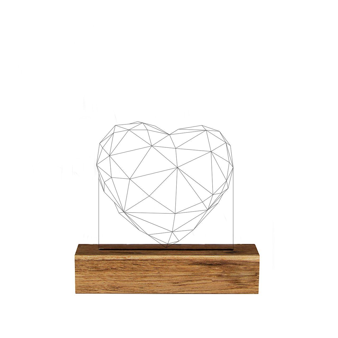 Forma - Luminária Coração