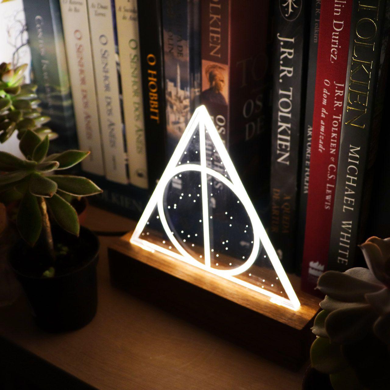 Geek - Luminária Reliquias