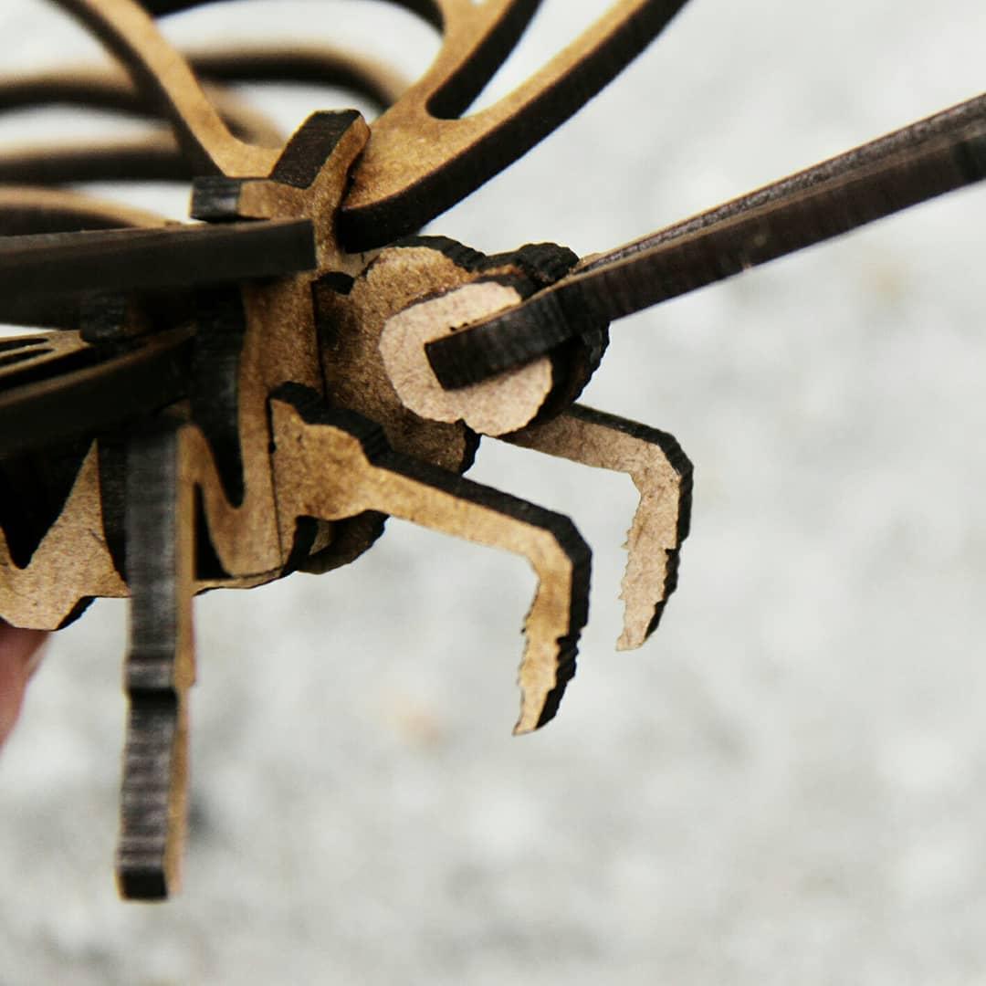 Insetos - Miniatura para montar Borboleta