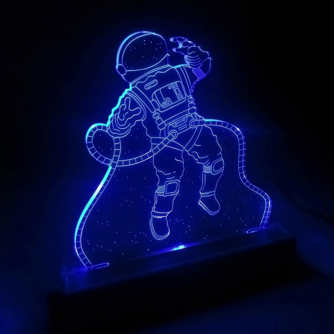 Luminária Astronauta