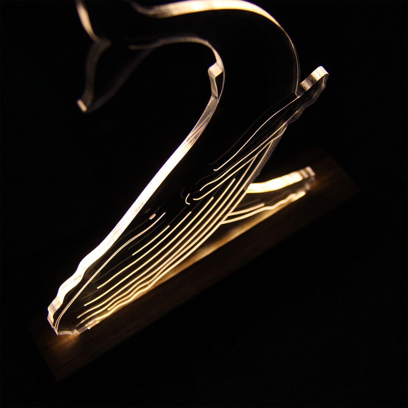 Marinhos - Luminária Baleia