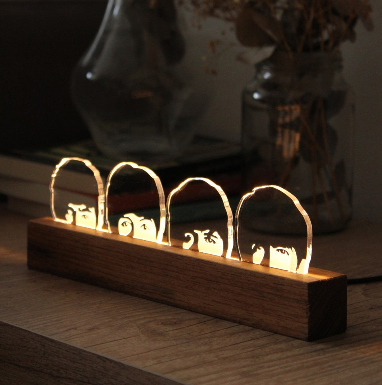 Luminária  Beatles