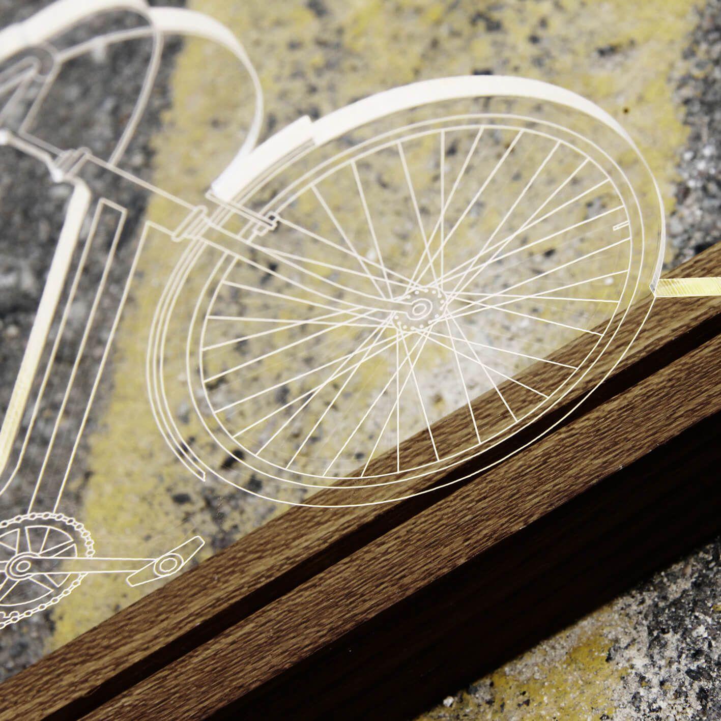 Bicicletas - Luminária Bicicleta de Passeio