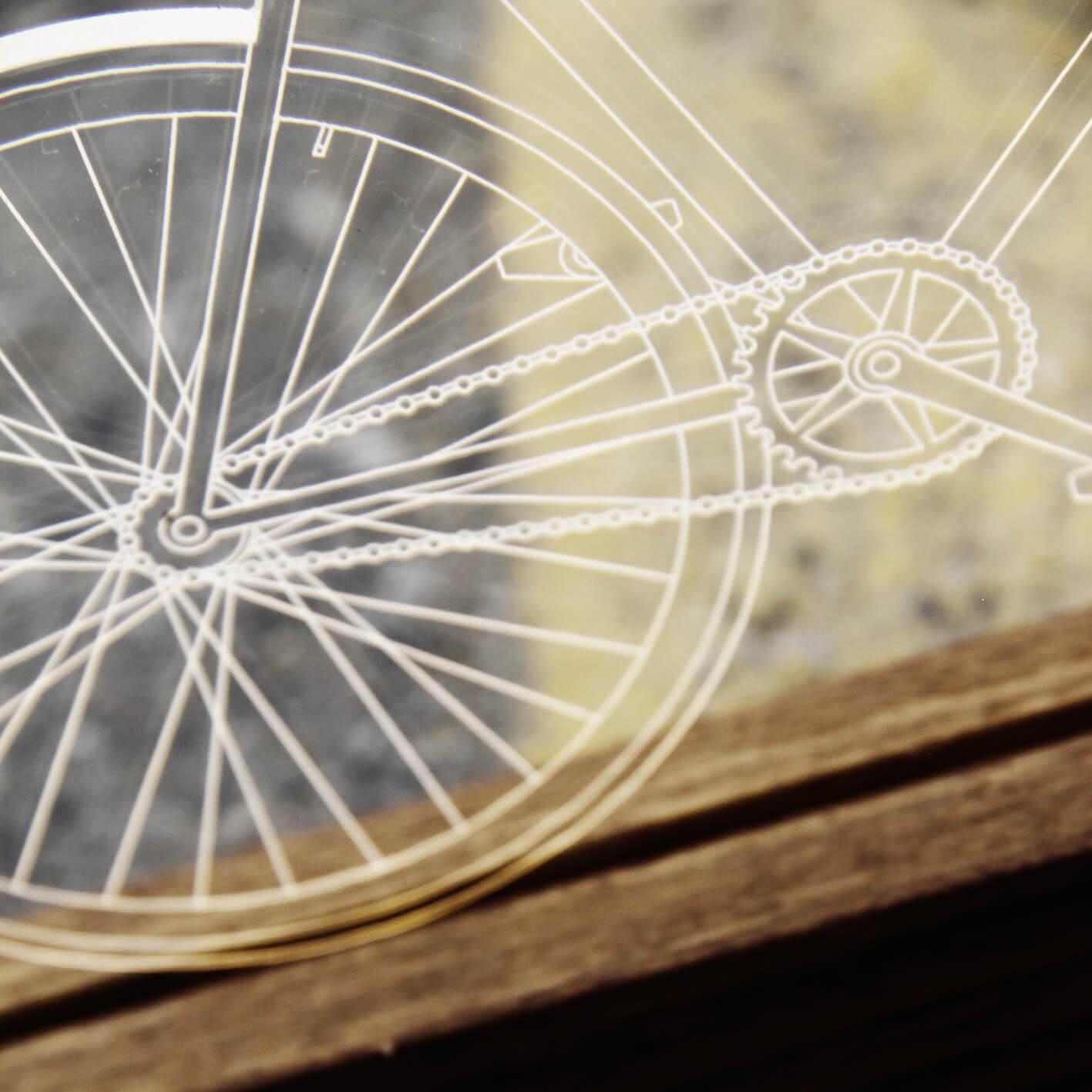 Bicicletas - Luminária Bicicleta Fixa