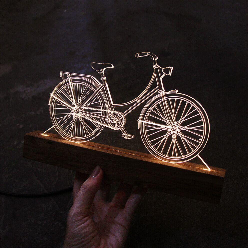 Bicicletas - Luminária Bicicleta Holandesa