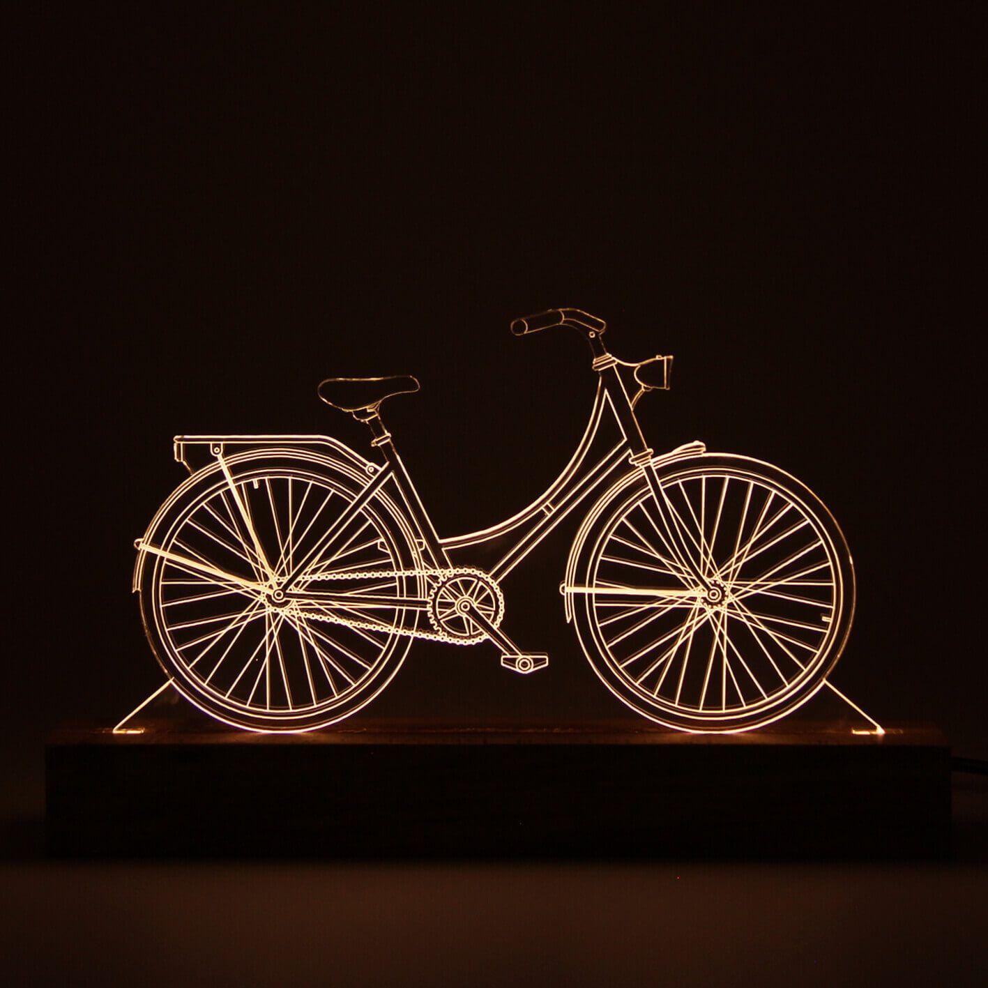 Europa - Luminária Bicicleta Holandesa