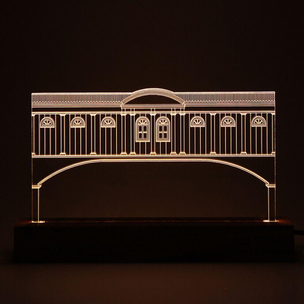 Luminária Casa da Glória - Diamantina