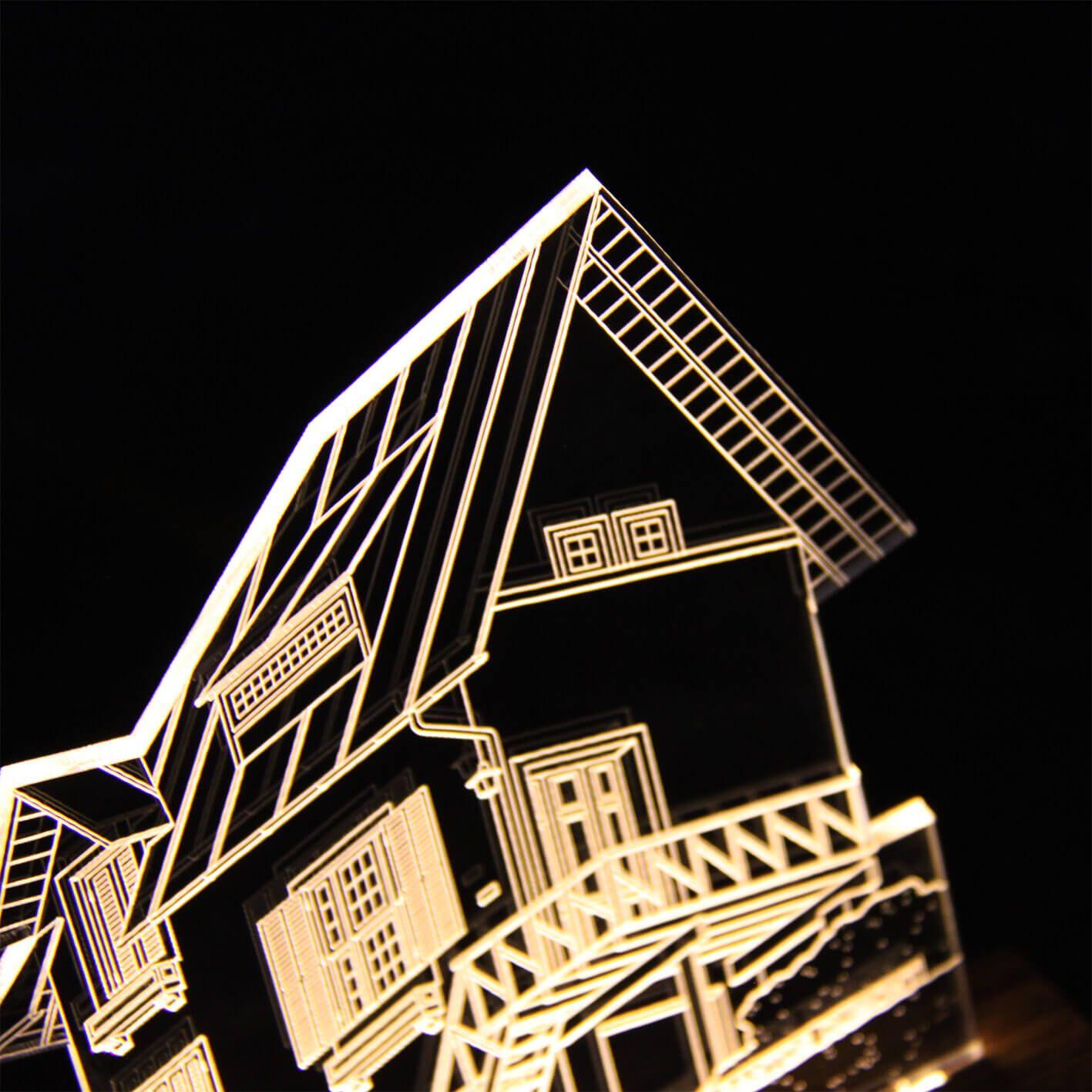 Petrópolis - Luminária Casa Santos Dumont