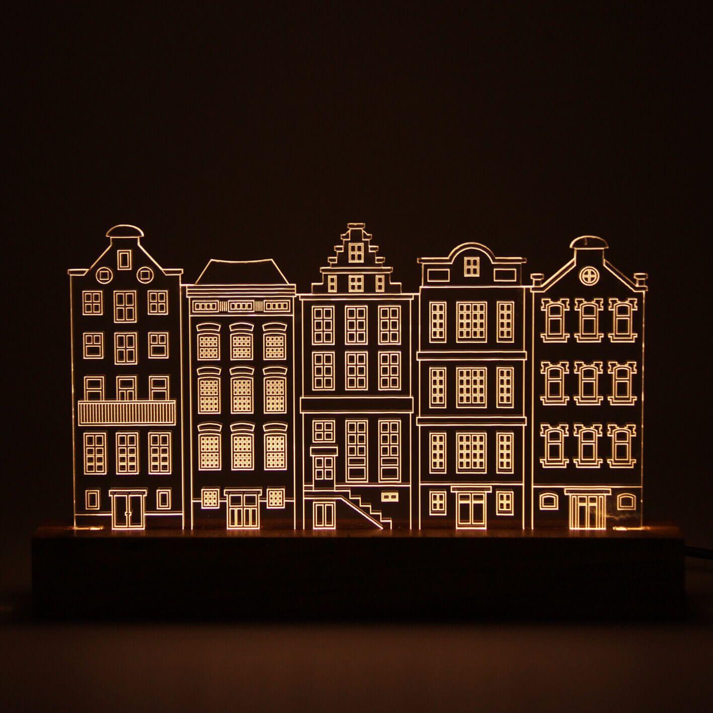 Europa - Luminária Casas Holandesas
