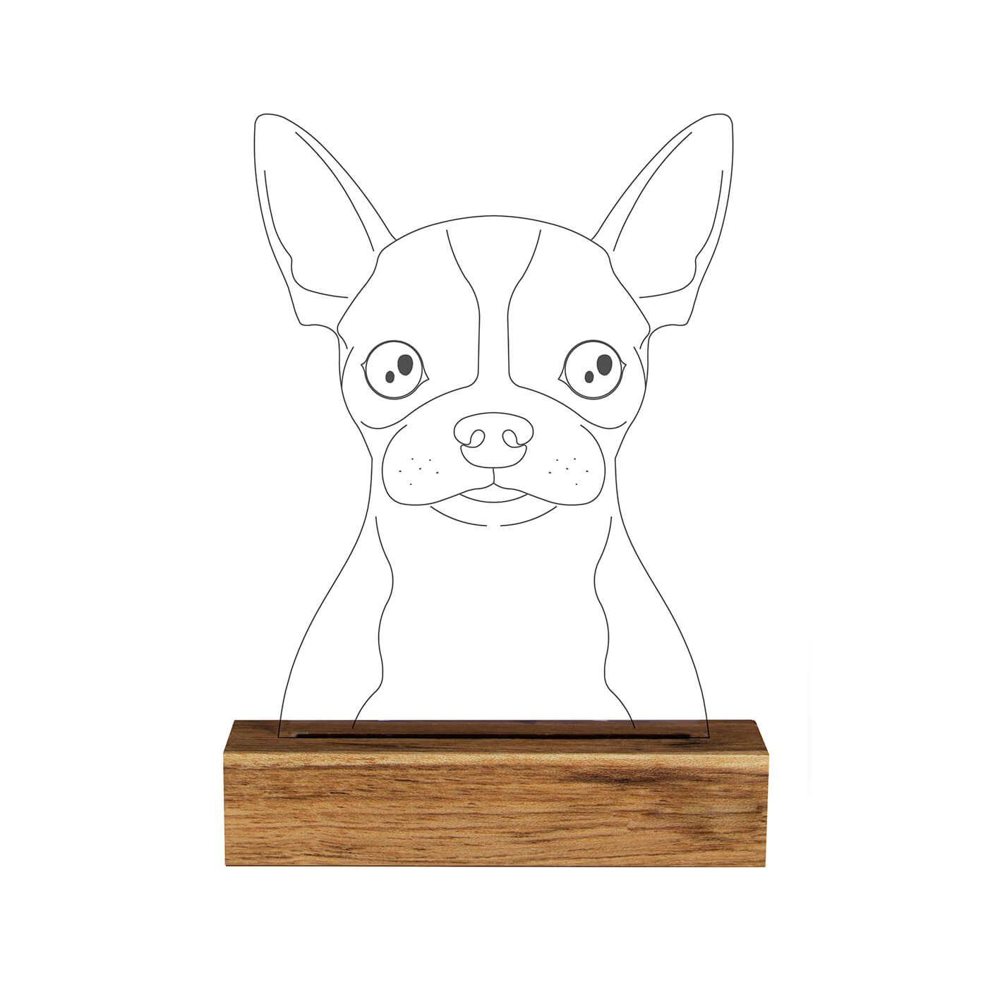 Pet - Luminária Chihuahua