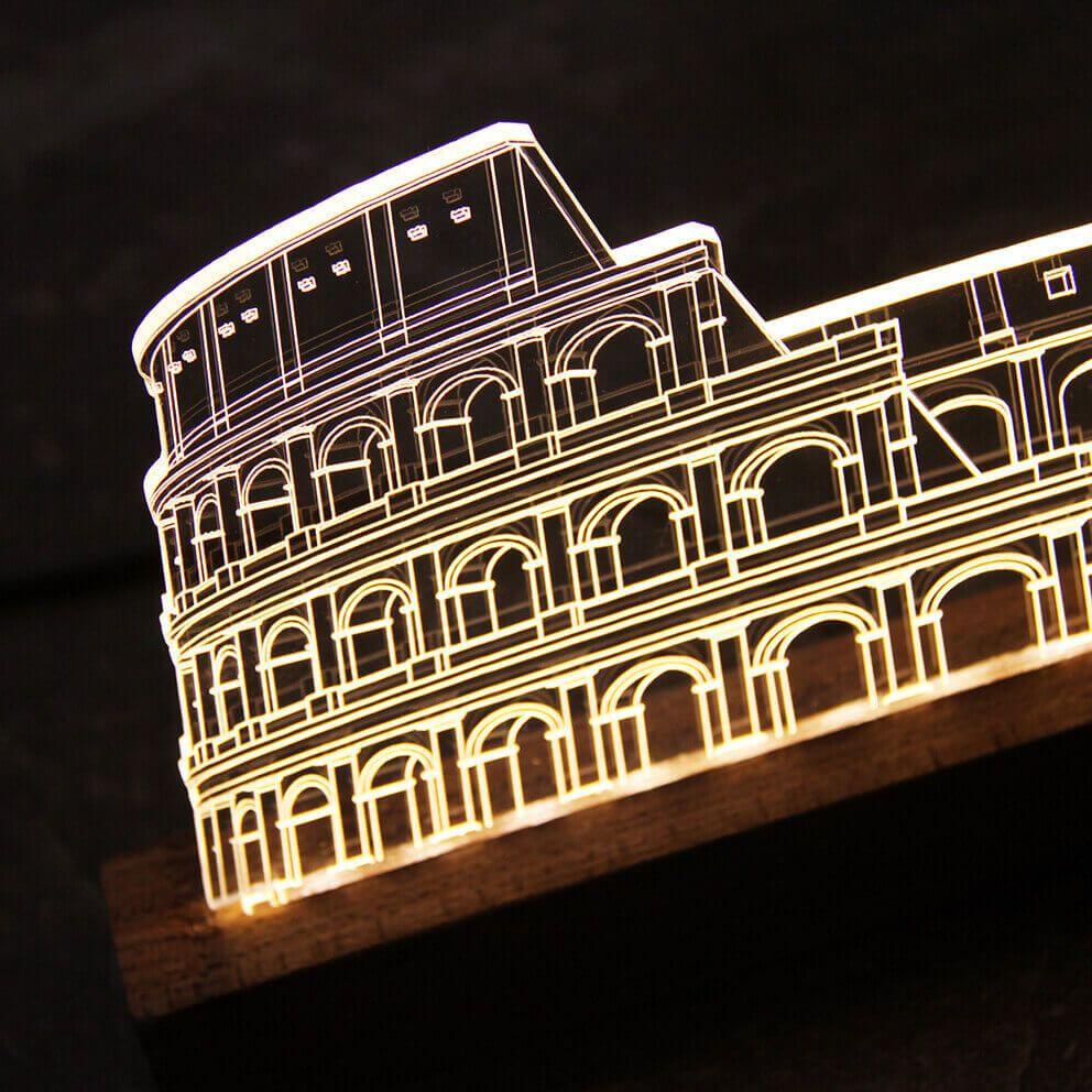 Europa - Luminária Coliseu