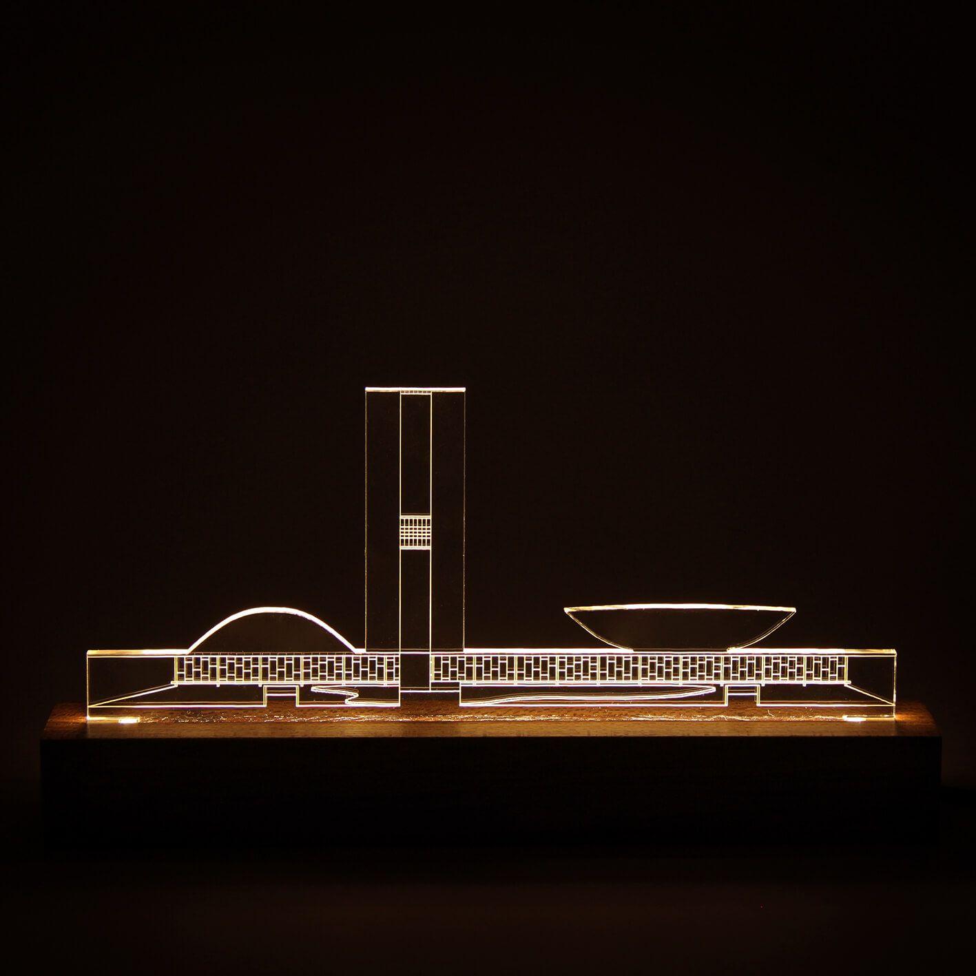 Brasilia - Luminária Congresso