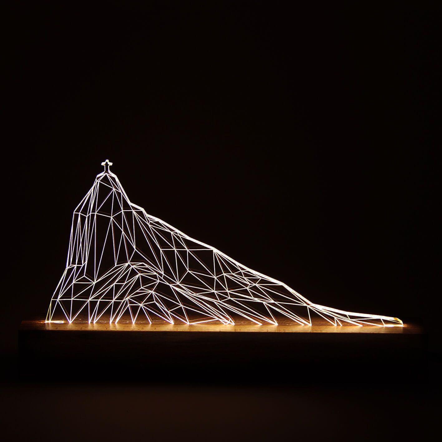 Luminária Corcovado