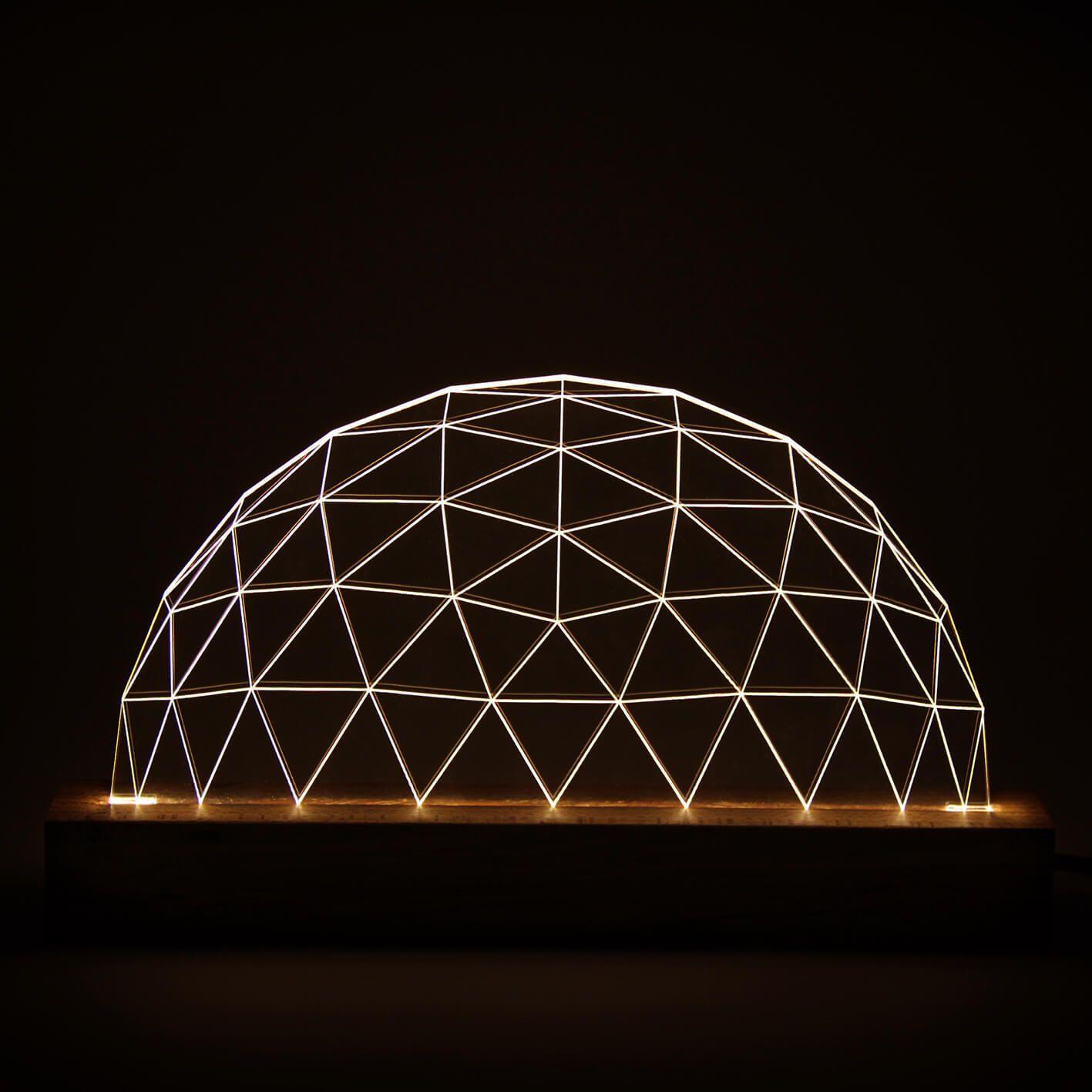 Geométricos - Luminária Domo