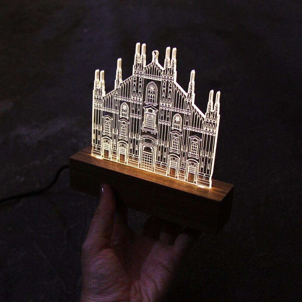Europa - Luminária Duomo - Milão