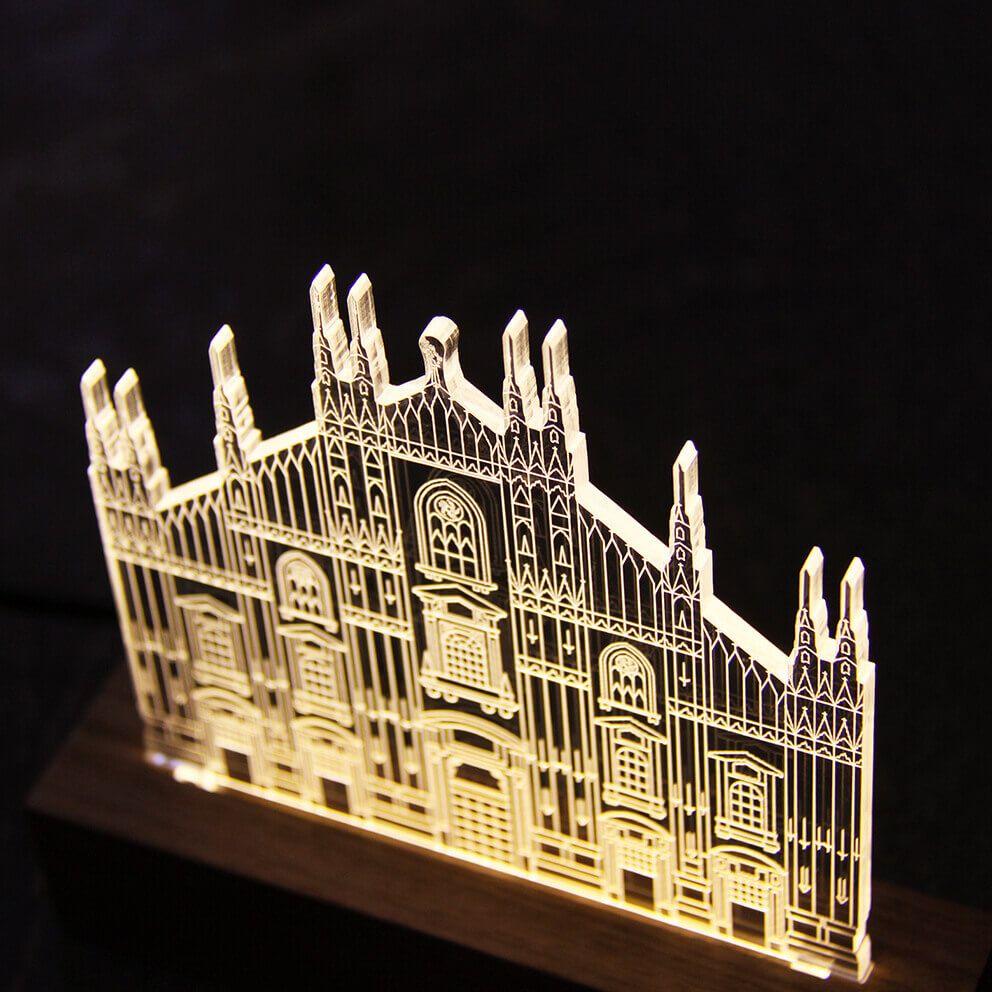 Luminária Duomo - Milão