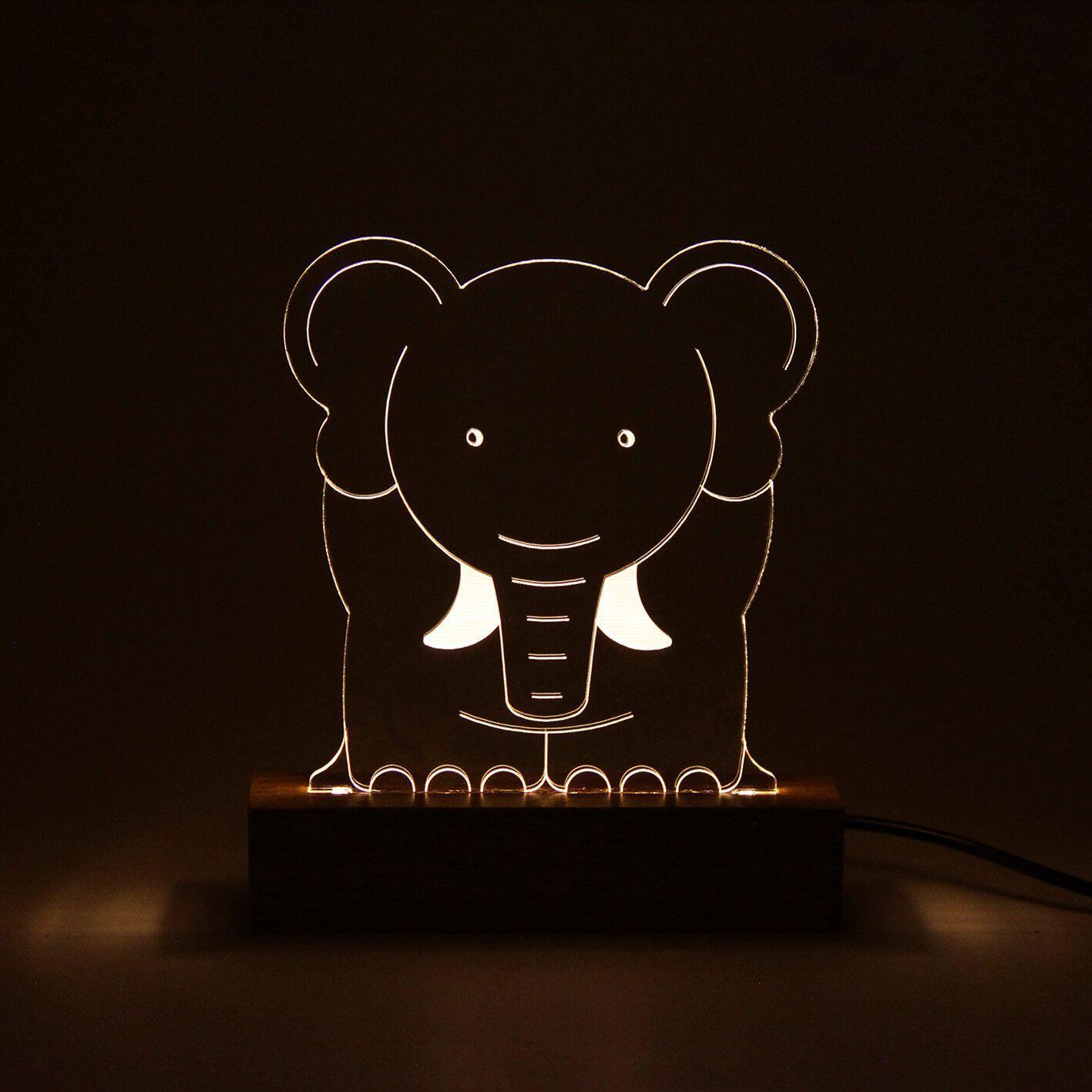 Infantil - Luminária Elefante