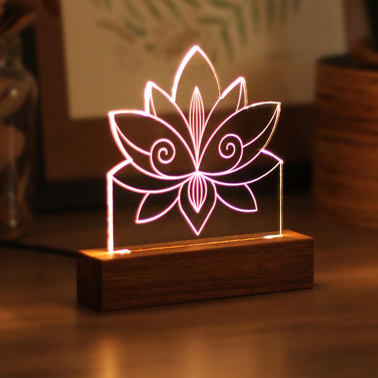 Luminária Flor de Lótus