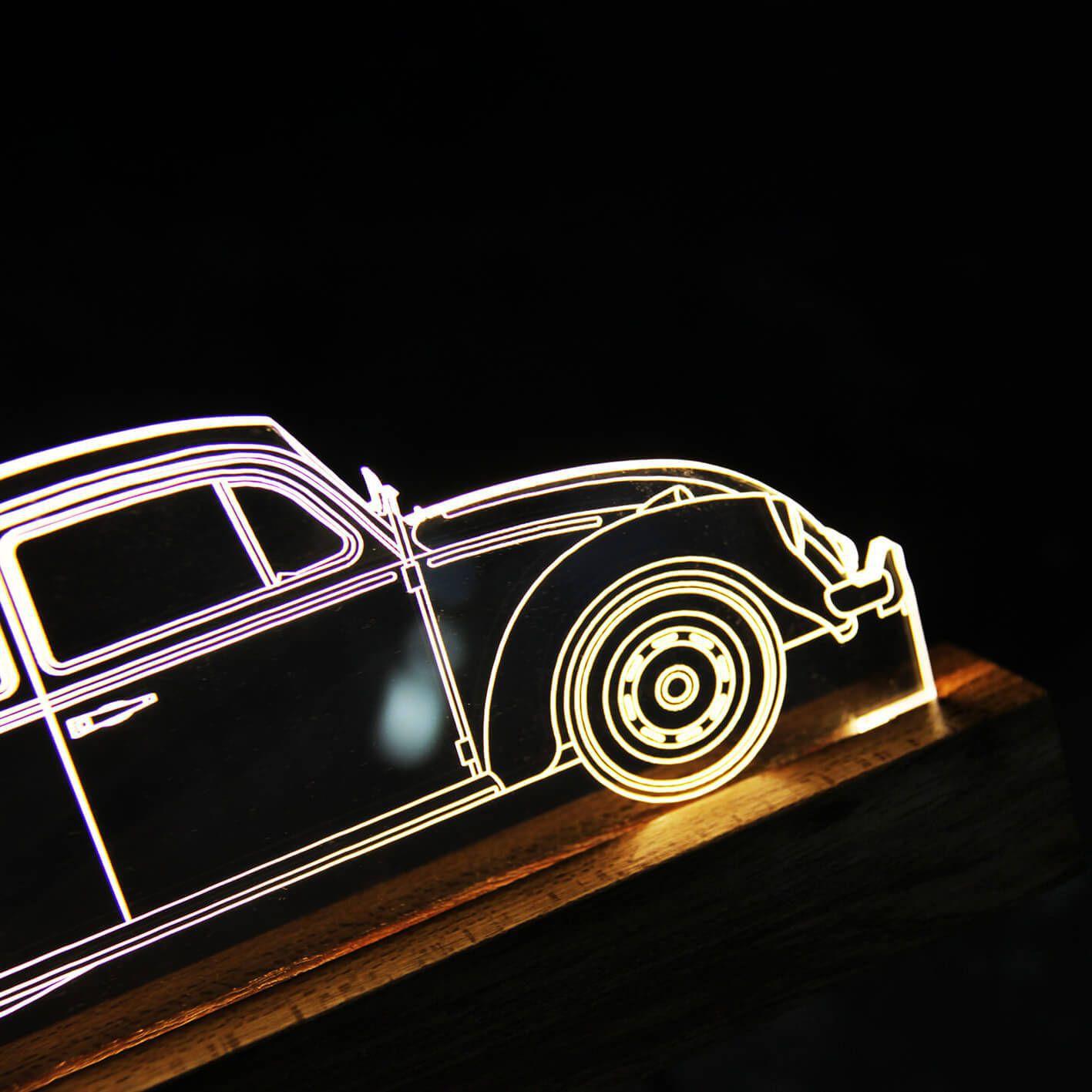 Auto - Luminária Fusca