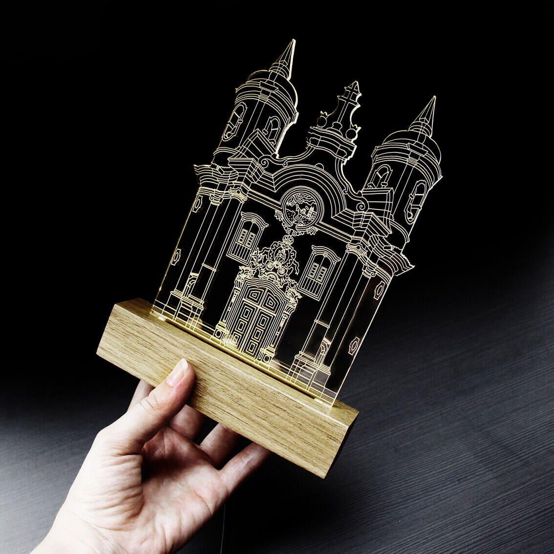 Minas Gerais - Luminária Igreja São Francisco de Assis - Ouro Preto