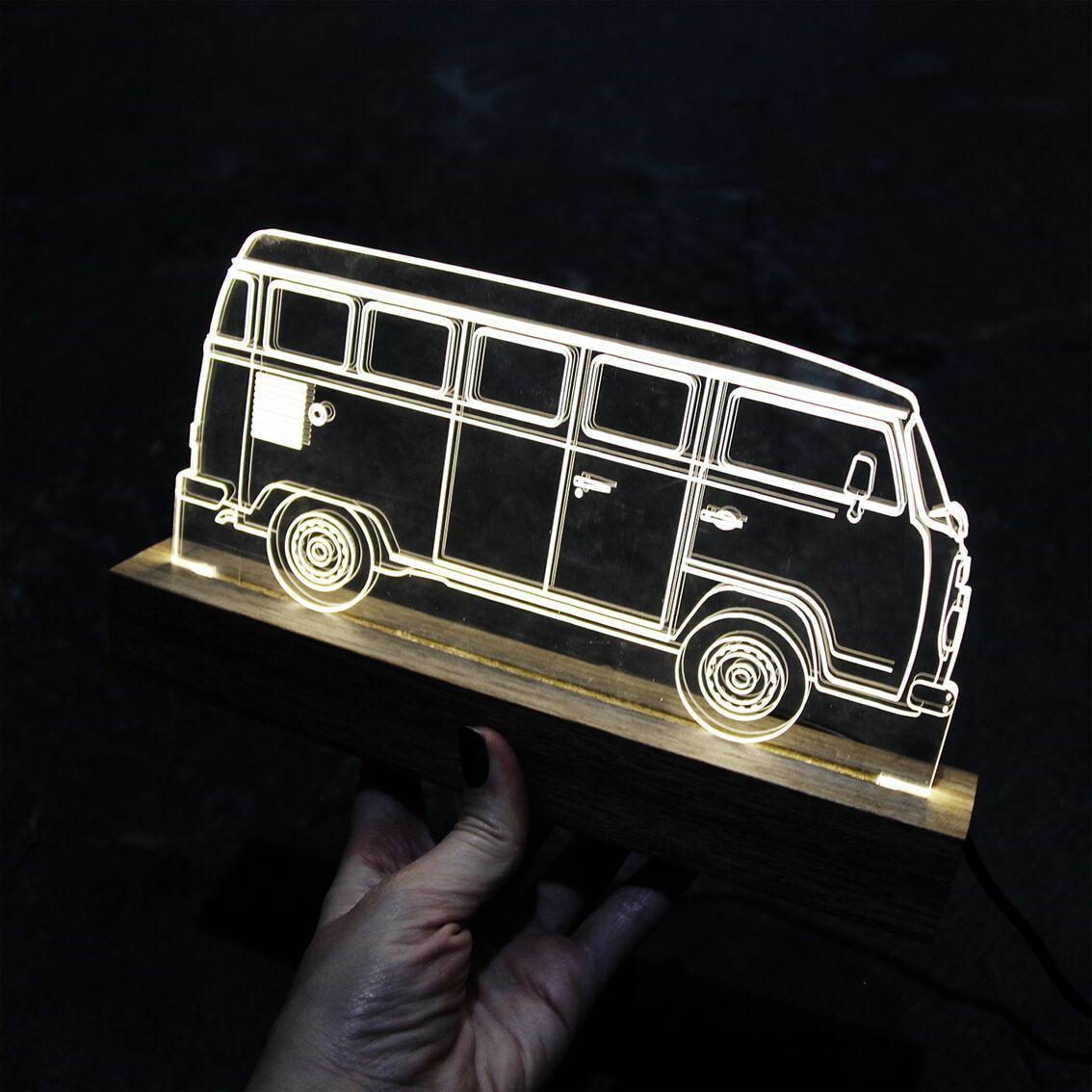 Auto - Luminária Kombi
