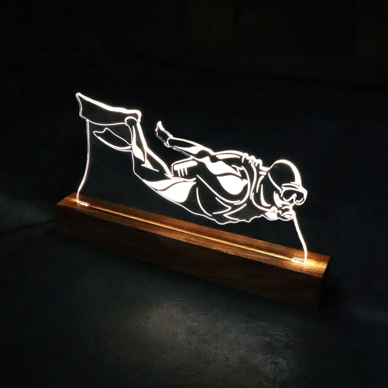 Luminária Mergulhador