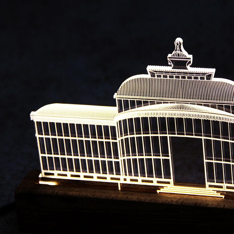 Petrópolis - Luminária Palácio de Cristal