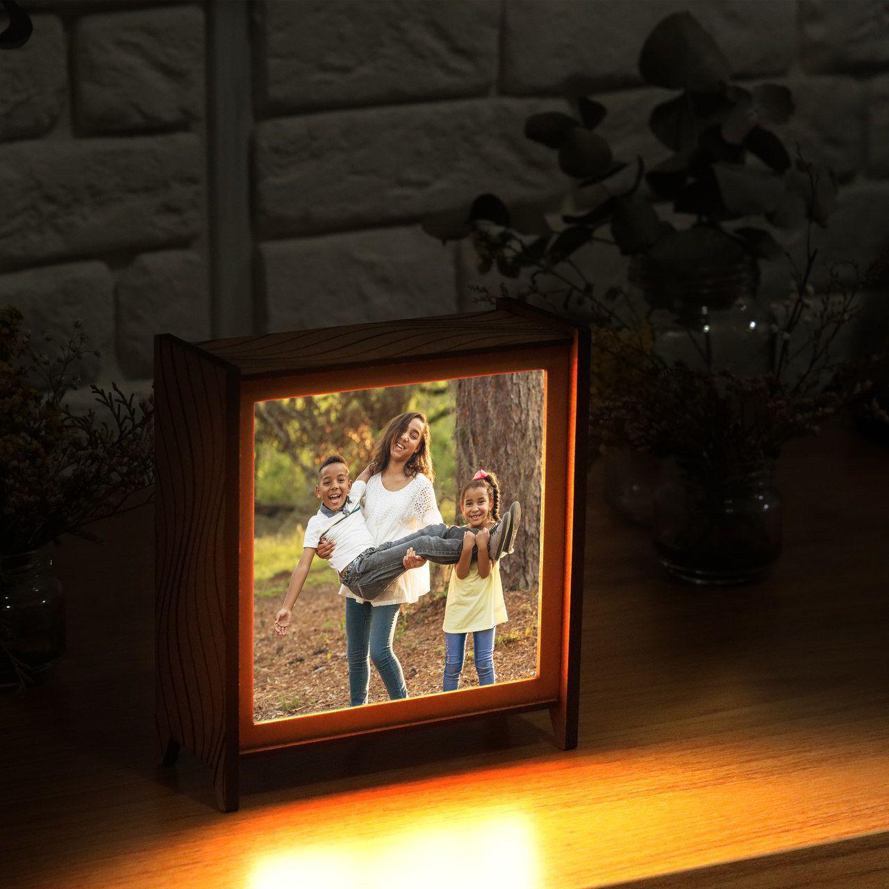Luminária Personalizada - Dia das Mães