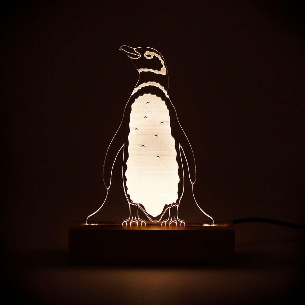 Marinhos - Luminária Pinguim