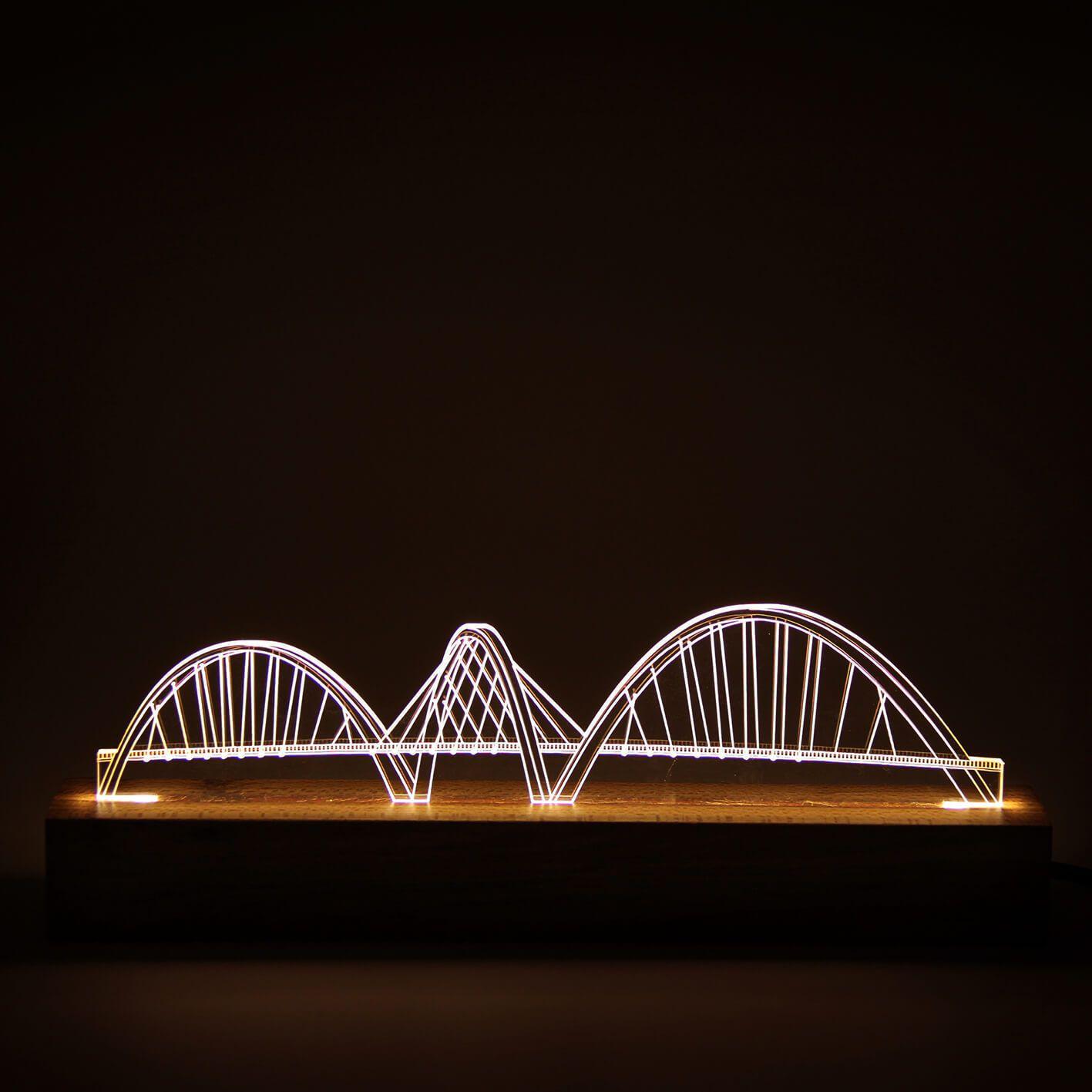 Luminária Ponte JK - Brasília
