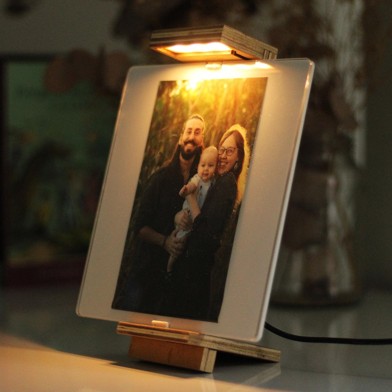 Luminária Porta Retrato - Dia das Mães