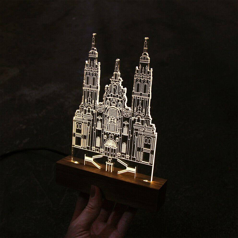 Luminária Santiago de Compostela