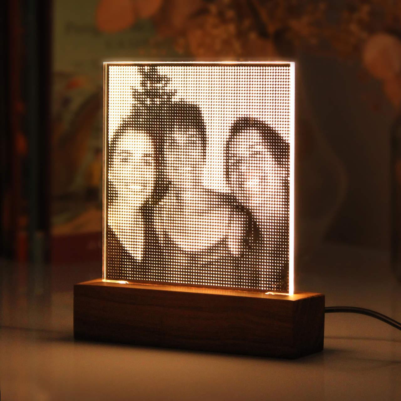 Luminária Selfie - Dia das Mães