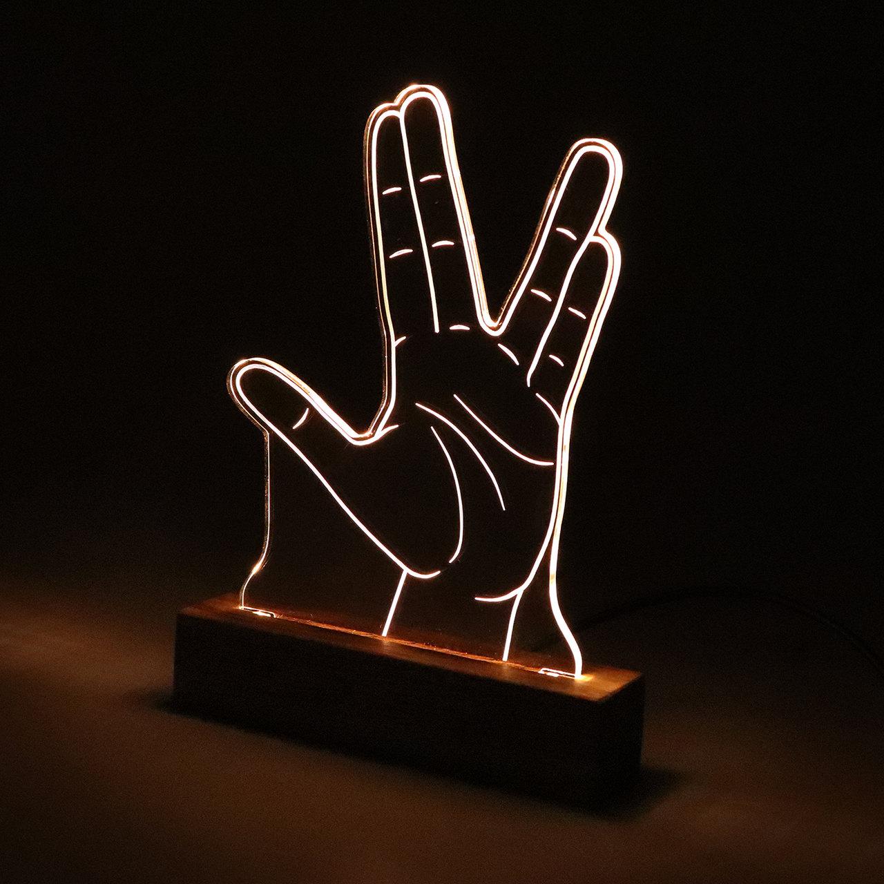Luminária Spock