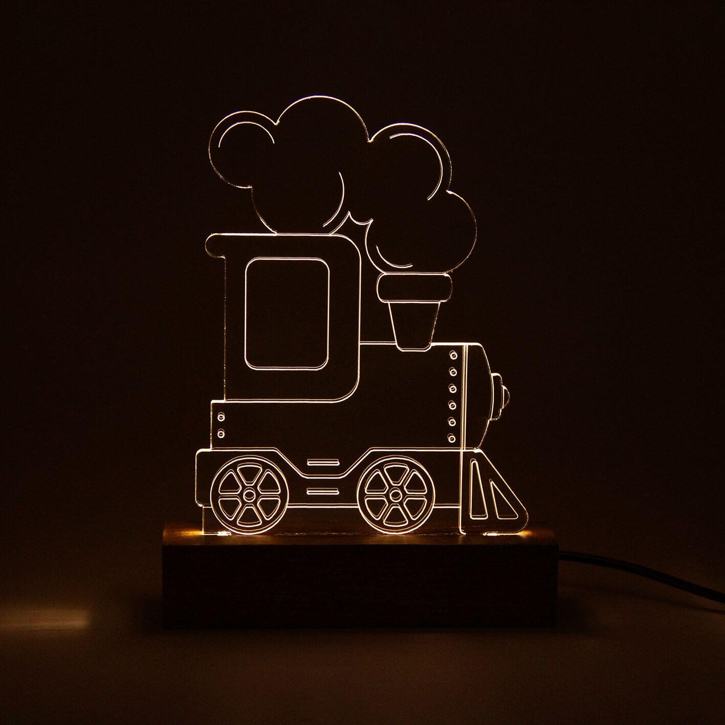 Infantil - Luminária Trem
