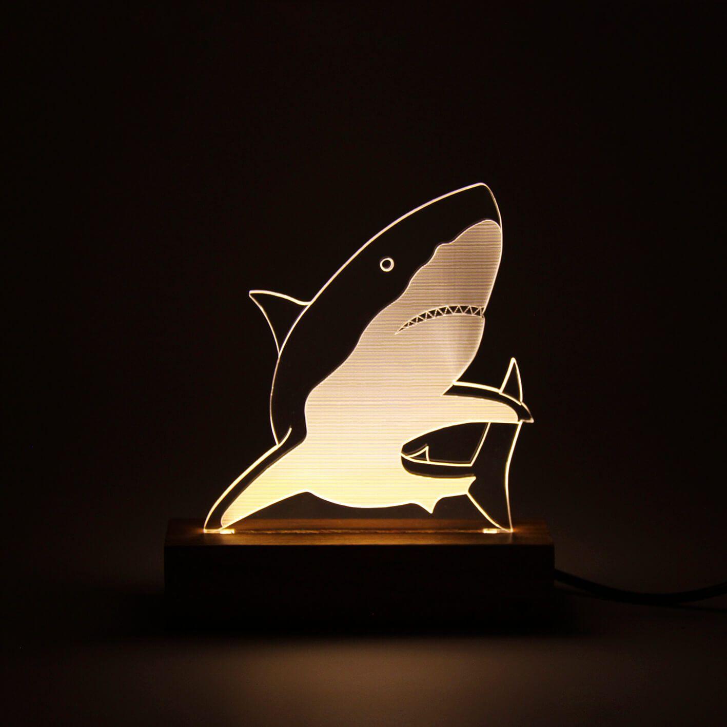 Marinhos - Luminária Tubarão