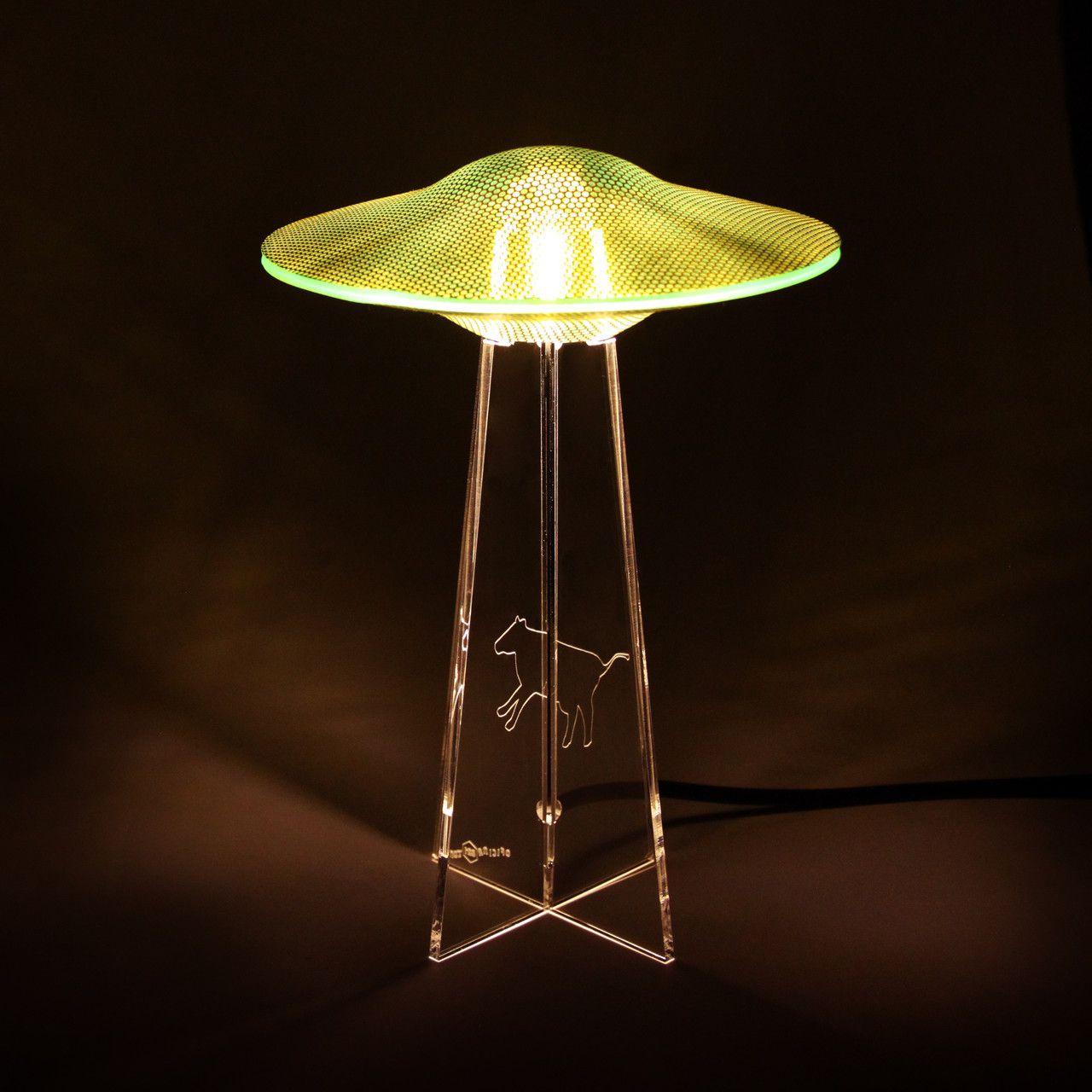 Luminária UFO - Verde - Vaca