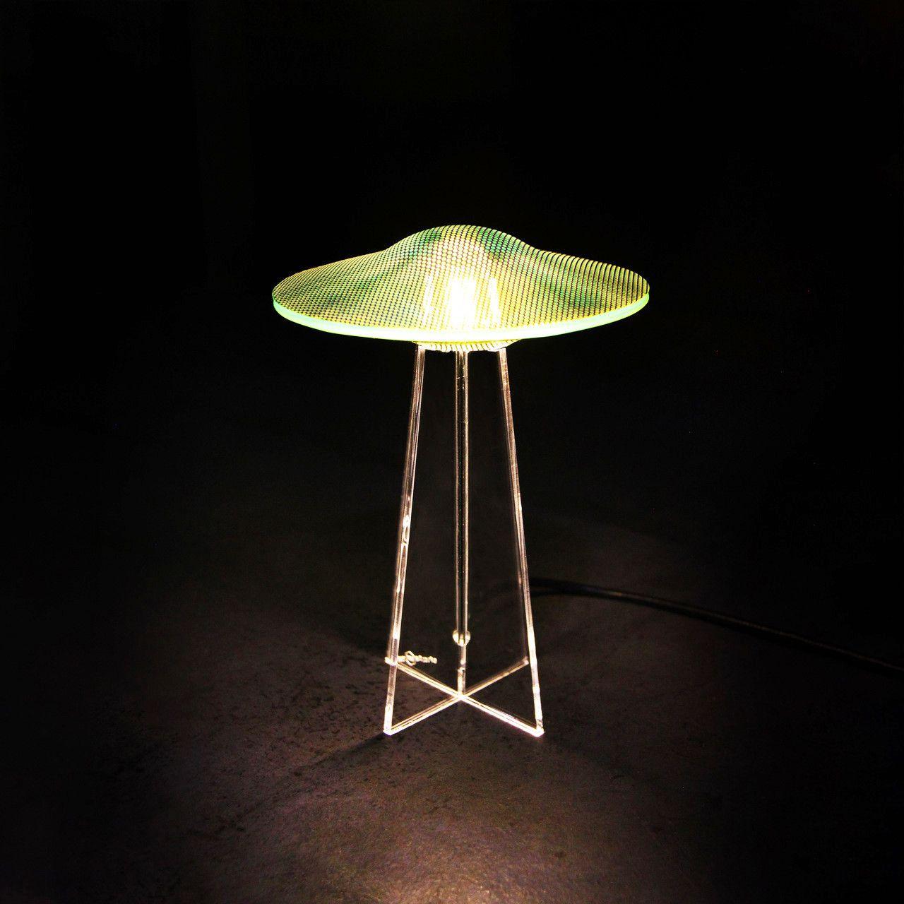 Luminária UFO - Verde