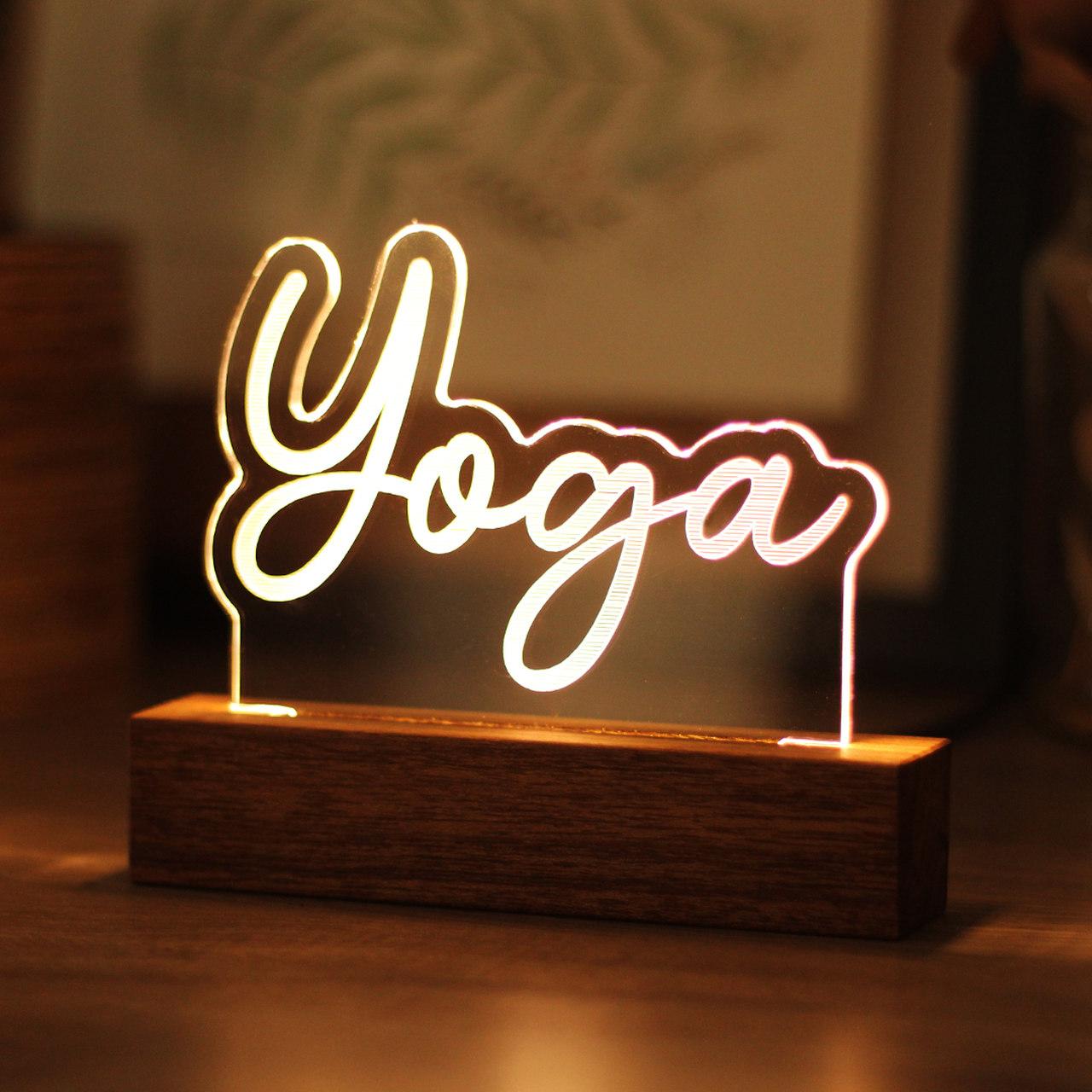 Luminária Yoga
