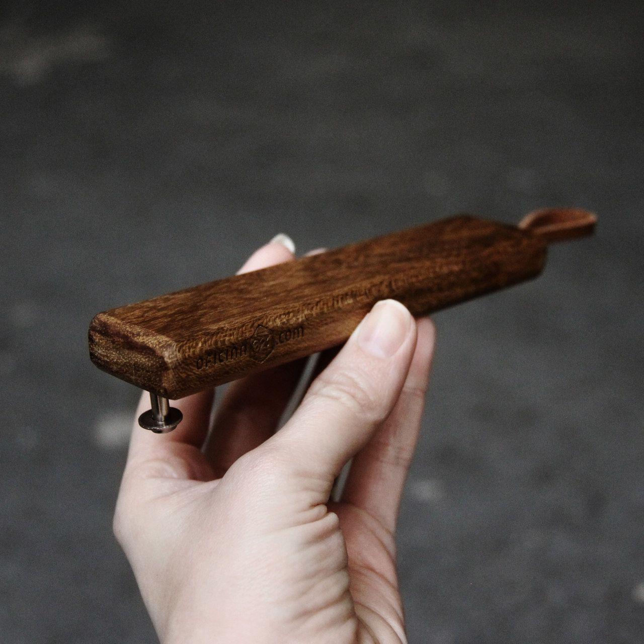 Madeira - Abridor de garrafa