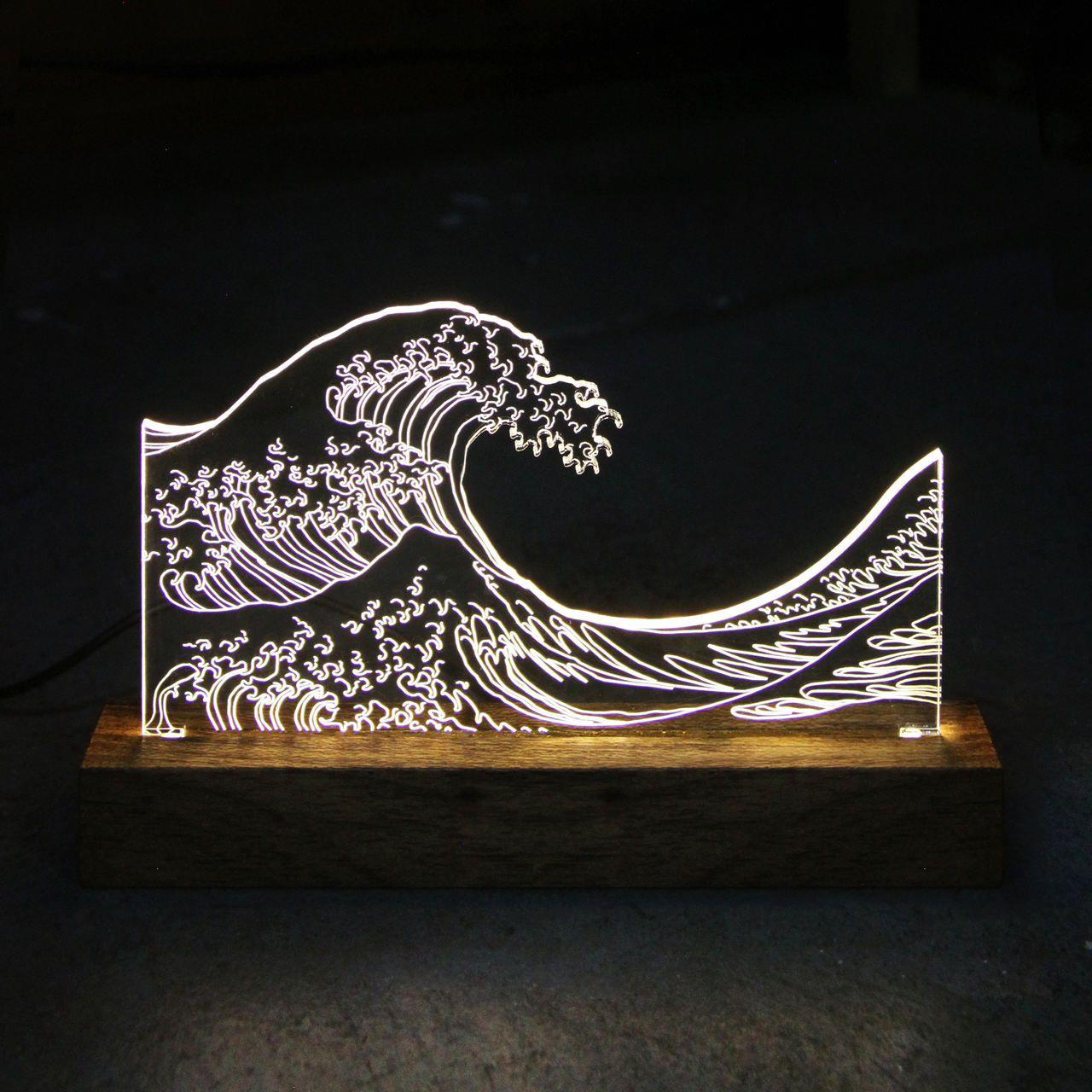 Marinhos - Luminária Tsunami