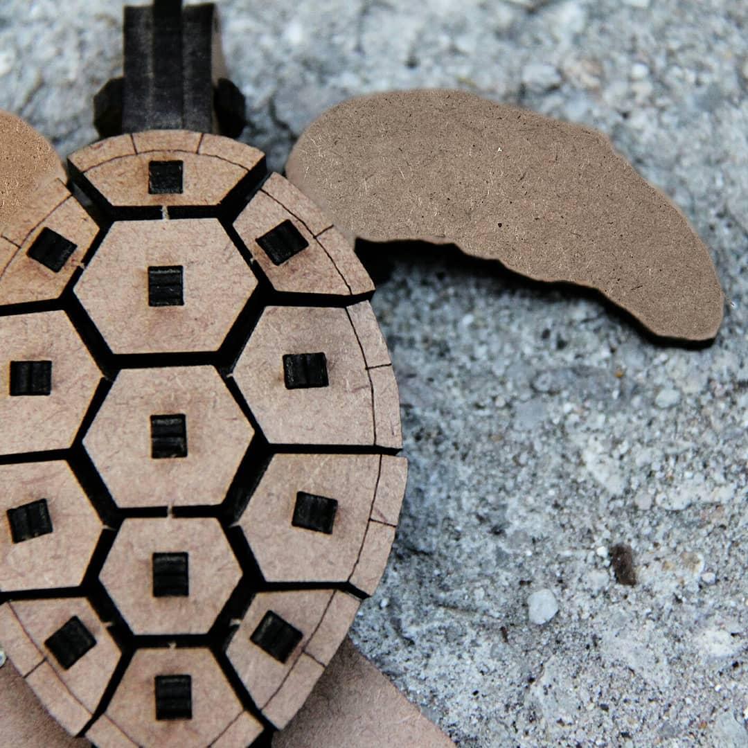 Marinhos - Miniatura para montar Tartaruga