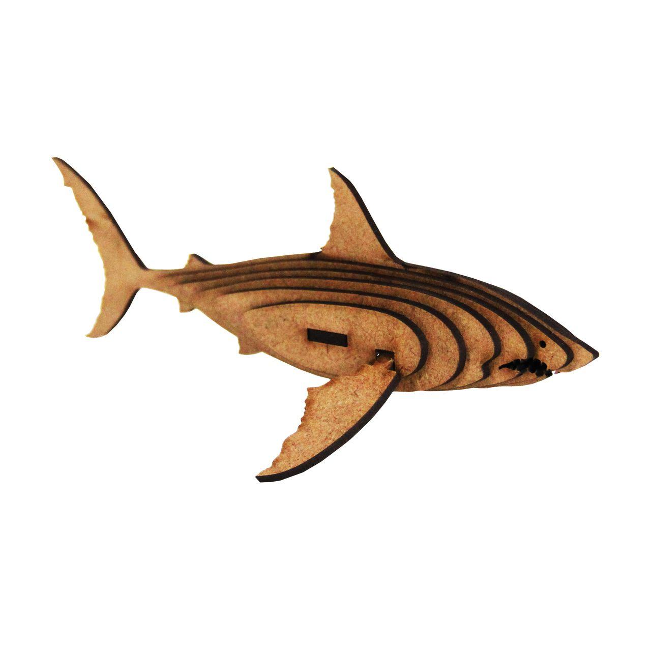 Marinhos - Miniatura para montar Tubarão